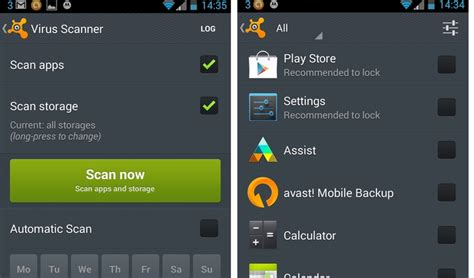 avast for android tablet review avast mobile security anti review comprehensive