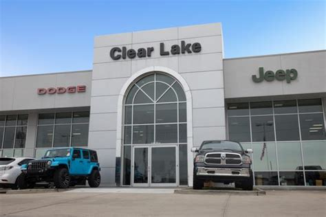 Clear Lake Dodge Chrysler Jeep by Clear Lake Chrysler Jeep Dodge Ram Car Dealership In