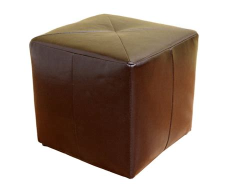 sullivan leather square wholesale interiors st 20 bonded leather square ottoman st