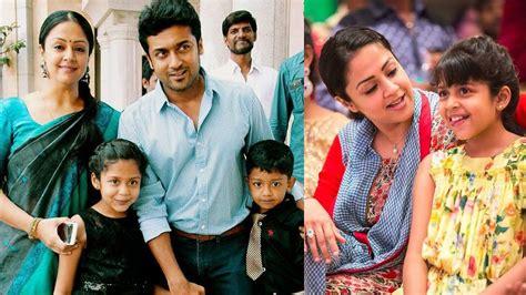 pictures of jyothika and surya actress jyothika family photos actor suriya jyothika