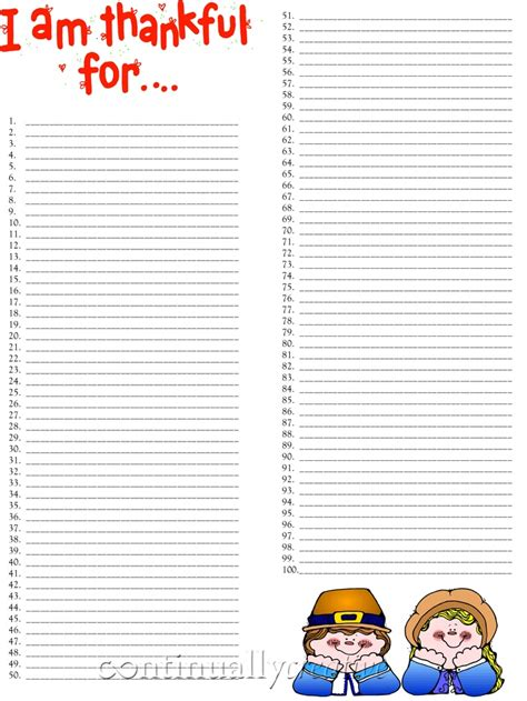 thanksgiving grocery list template
