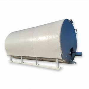 Used 6 000 Gallon Horizontal Stainless Steel Tank For Sale