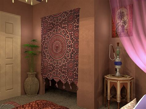 Bedroom Moroccan Style Bedroom Furniture With Interior
