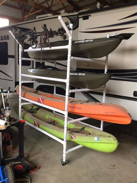 pvc kayak rack 17 best images about what to make with pvc on