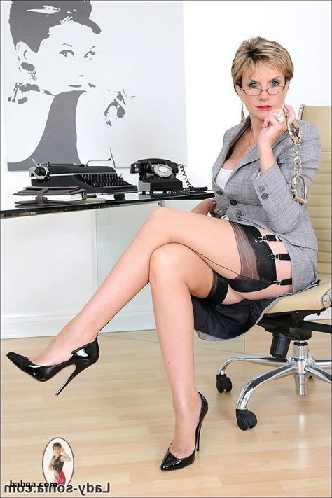 Office And Hot Naked Girls In Stockings The Sexy Girls