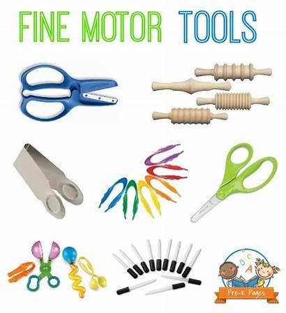 Motor Fine Skills Activities Clipart Pre Preschool