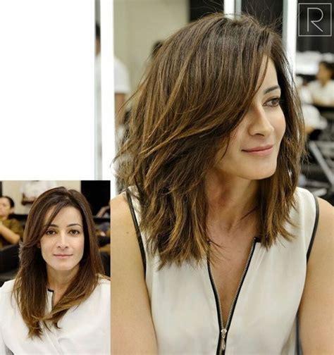 id 233 e tendance coupe coiffure femme 2017 2018 cheveux mi longs tendance 233 t 233 2016 les