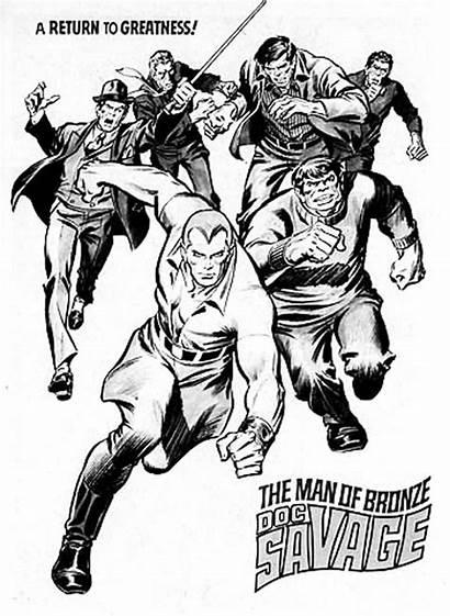Comic Doc Savage Buscema John Books Comics