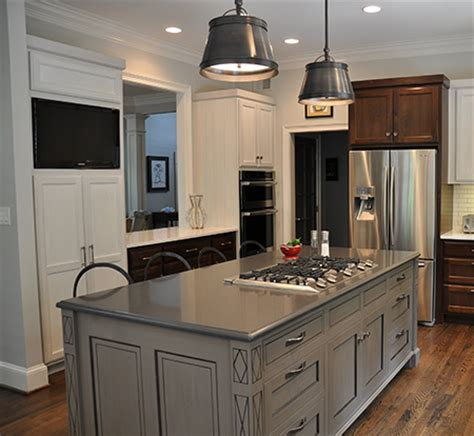 kitchen island cabinets  tribble
