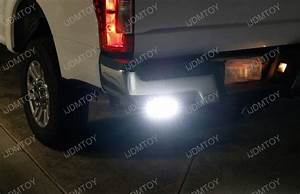 Dual Led Light Bars W  Rear Bumper Mount  Wiring For 12