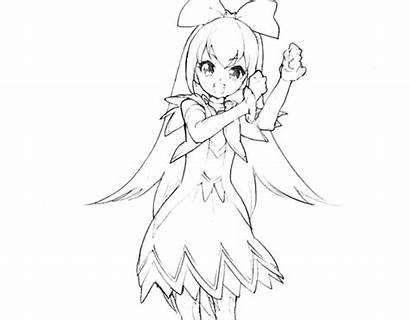 Doki Coloring Precure Toki Cure Pretty Colloring