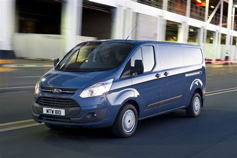 Ford Transit Review by New Ford Transit Custom Review Parkers