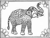 Coloring Elephant Adult Pages Printables Books Colouring Elephants Popsugar Printable Being Smart Animal Colour Easy App Well Sense Magic Cool sketch template