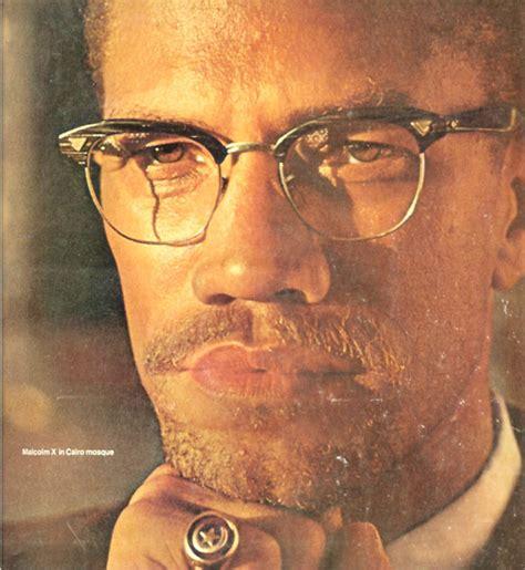 malcolm x color マルコムx 眼鏡 めがね 革ジャンのマックス ケイディ