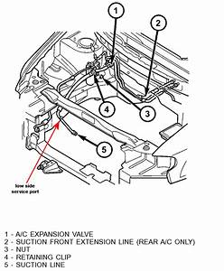 Where Is The Low Side Port For A  C On A 06 Town And Country