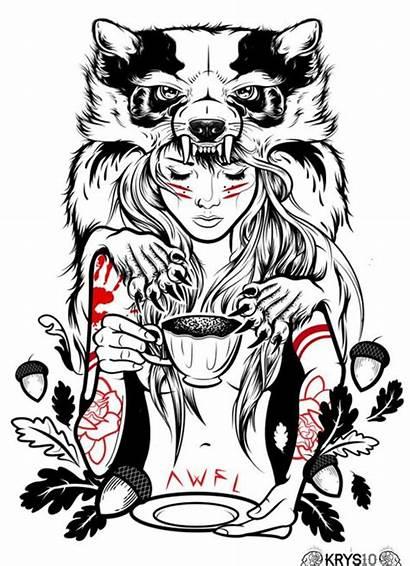 Tattoos Tattoo Behance Drawings Badass Bad Drawing