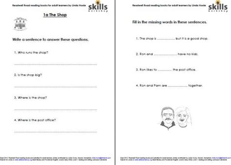 printable activities for adults learning esl