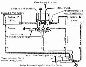 6 Volt Series Parallel Switch 1119845