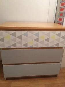 Meuble Malm Ikea : ikea hack commode malm relooking deco pinterest commode commode malm et d co chambre ~ Melissatoandfro.com Idées de Décoration
