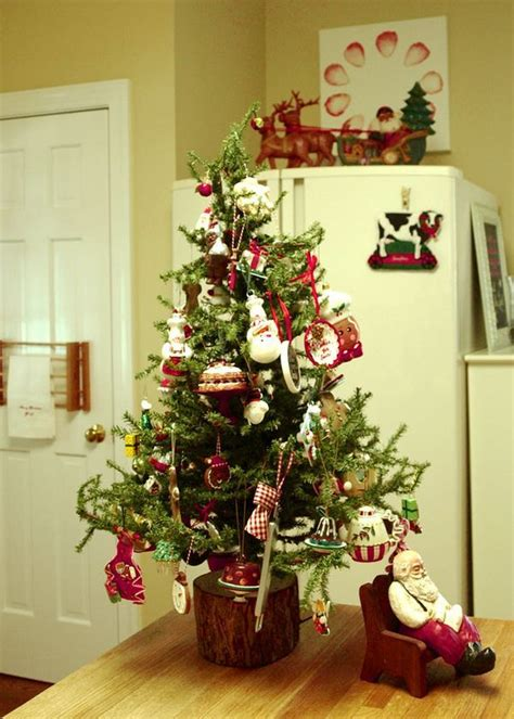 kitchen christmas tree my home pinterest
