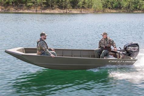 Crestliner Boats Retriever by 2016 New Crestliner 1650 Retriever Jon Boat For Sale