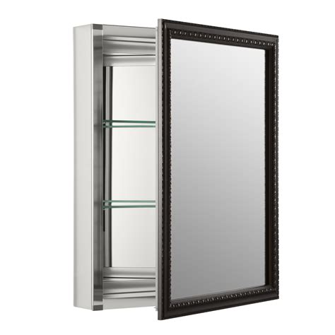 surface mount medicine cabinet with mirror kohler mirrored medicine cabinets surface mount mf cabinets