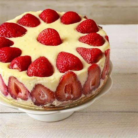 cuisine gateau recette gâteau d anniversaire aux fraises
