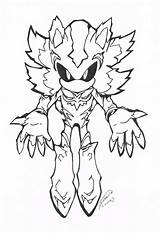 Sonic Coloring Pages Dark Mephiles Ratchet Clank Shadow Hedgehog Metal Printable Sketch Exe Super Mario Awesome Popular sketch template