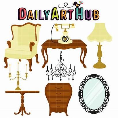 Antique Clip Furniture Furnitures Cricut Hub Dailyarthub
