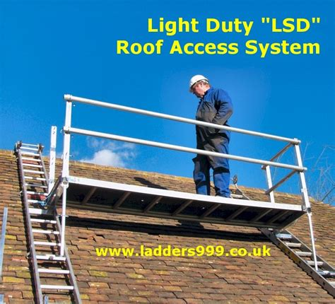light duty lsd roof access system by ladders999 lansford access ltd