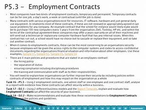 Organisational systems security t 601 7312 level 3 unit 5 for Permanent contract of employment template