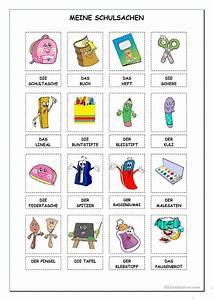 Spielzeug Auf Englisch : schulsachen arbeitsblatt kostenlose daf arbeitsbl tter ~ Orissabook.com Haus und Dekorationen