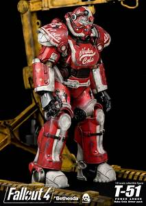 Fallout 4 T 51 Power Armor Nuka Cola Armor Pack