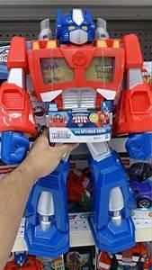 Rescue Bots Epic Optimus Prime Released