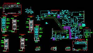 Medium Voltage Switchgear In Autocad