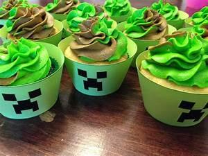 Minecraft Cupcakes | NinjaSweets.com