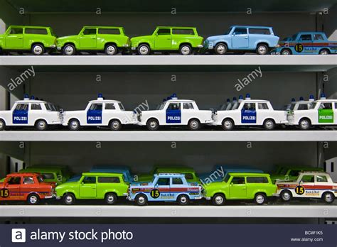 Many Miniature Trabant Cars, Trabi Toy Cars Including