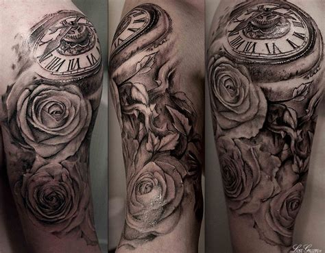 pocket  tattoo sleeve tags bird clockwork