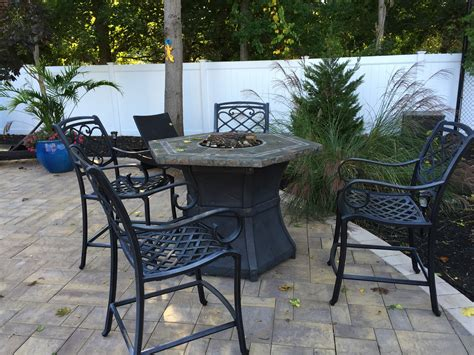 shrink wrapping outdoor furniture before after photo