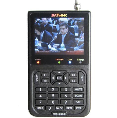 digital satellite finder meter dvb  satlink ws