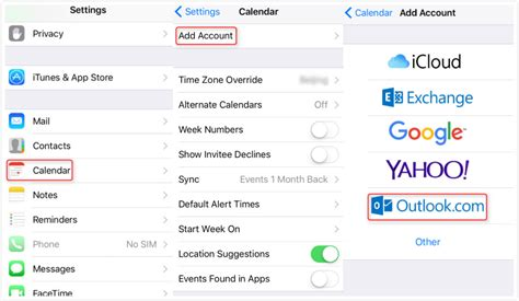 sync calendar with iphone how to sync outlook calendar with icloud imobie inc