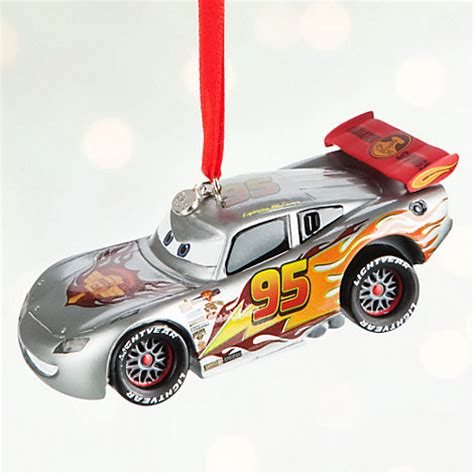 christmas decoration for cars lightning mcqueen light up decoration disney pixar cars
