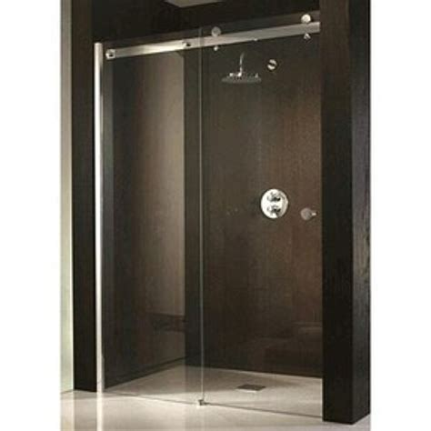 frameless sliding shower door foto cancel de baño bacalar de city glass aluminio y