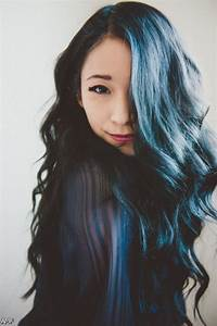 Dark Blue Black Hair Tumblr 2015-2016 | Fashion Trends ...