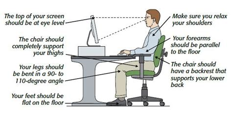 ergonomic sitting at desk why sitting is bad for your health tips for posture and