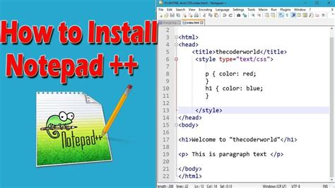 How To Download And Install Notepad++ On Windows 10  Youtube