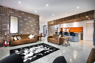 Home Design And Decor House Decorated In Brick Veneer Inside And Out