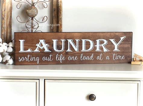 Laundry Room Decor Farmhouse Laundry Sign Laundry Room