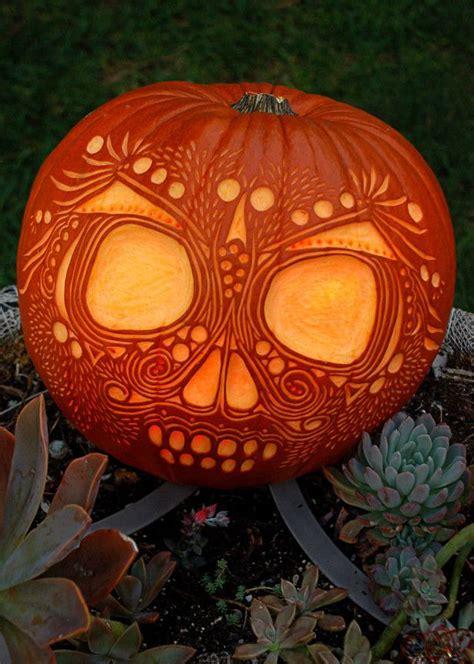skull inspiration  skull pumpkin carving ideas