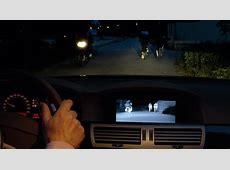 Videos BMW Night Vision in Aktion im BMW 7er F01